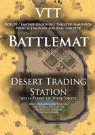 VTT Battlemap - Desert Trading Station