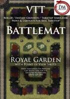 VTT Battlemap - Royal Garden