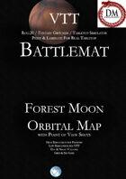VTT Battlemap -  Forest Moon Orbital Map