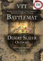 VTT Battlemap - Desert Slavers Outpost