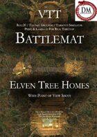 VTT Battlemap - Elven Tree Homes