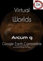 Virtual Worlds (Google Earth Compatible) - Arcum g