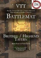 VTT Battlemap - Brothel / Highend Tavern