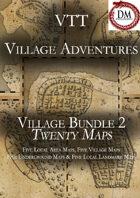 Village Adventures Bundle 2 - 20 Maps! [BUNDLE]