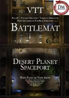 VTT Battlemap -  Desert Planet Spaceport