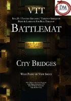 VTT Battlemap - City Bridges