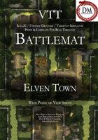 VTT Battlemap - Elven Town