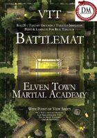 VTT Battlemap - Elven Town Martial Academy