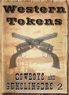 Western Tokens, Cowboys and Gunslingers 2