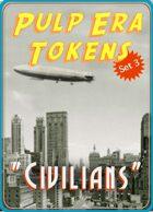 """Pulp Era Tokens Set 3: """"Civilians"""""""