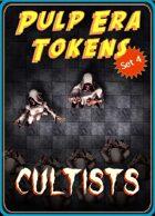 Pulp Era Tokens Set 4: Cultists