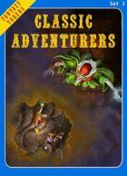 Fantasy Tokens Set 3: Classic Adventurers