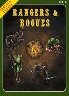 Fantasy Tokens Set 11: Rangers & Rogues