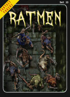 Fantasy Tokens Set 13: Ratmen