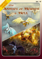Fantasy Tokens Set 16: The Armies of Heaven & Hell