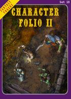Fantasy Tokens Set 19: Character Folio 2