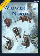 Fantasy Tokens Set 20: Wildmen of the North