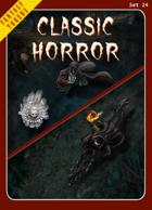 Fantasy Tokens Set 24: Classic Horror