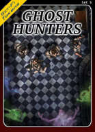 Sci-Fi Tokens Set 5, Ghost Hunters