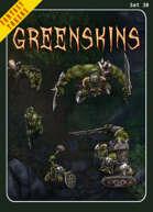 Fantasy Tokens Set 30: Greenskins