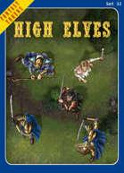 Fantasy Tokens Set 32: High Elves