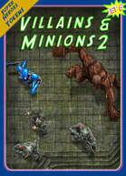 Superheroes Tokens Set 5, Villains & Minions 2
