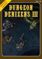 Fantasy Tokens Set 36: Dungeon Denizens 3