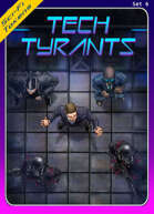 Sci-Fi Tokens Set 6, Tech Tyrants