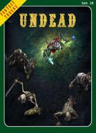 Fantasy Tokens Set 39: Undead