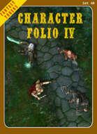 Fantasy Tokens Set 40: Character Folio 4