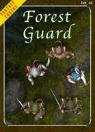 Fantasy Tokens Set 43: Forest Guard