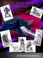 Fantasy Stock Art 3: Monsters