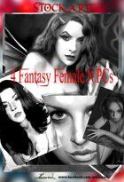 Fantasy Stock Art 2: Female NPCs