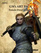 GMART104 Female Dwarf Warrior