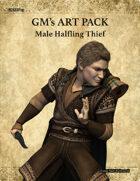 GMART113 Male Halfling Thief