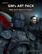 GMART005 Male Sci-Fi Airborne Trooper