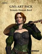 GMART112 Female Human Bard
