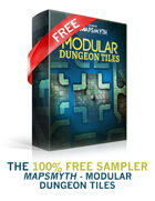 MapSmyth: Modular Dungeon Maps - Free Sample Pack