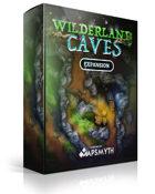 MapSmyth Maps: WILDERLAND CAVES - Modular Dungeon Tiles for VTT