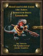 Character Race: Lizardfolk: PREMIUM EDITION!!!