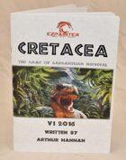 DINOSAUR TABLETOP GAME: Cretacea - The game of gargantuan survival