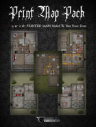 """5, 12"""" x 18""""POSTERS-PRINT Map Pack-1"""