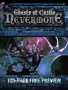 FREE PREVIEW - Ghosts of Castle Nevermore