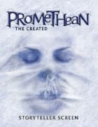 Promethean: the Created Storyteller Screen