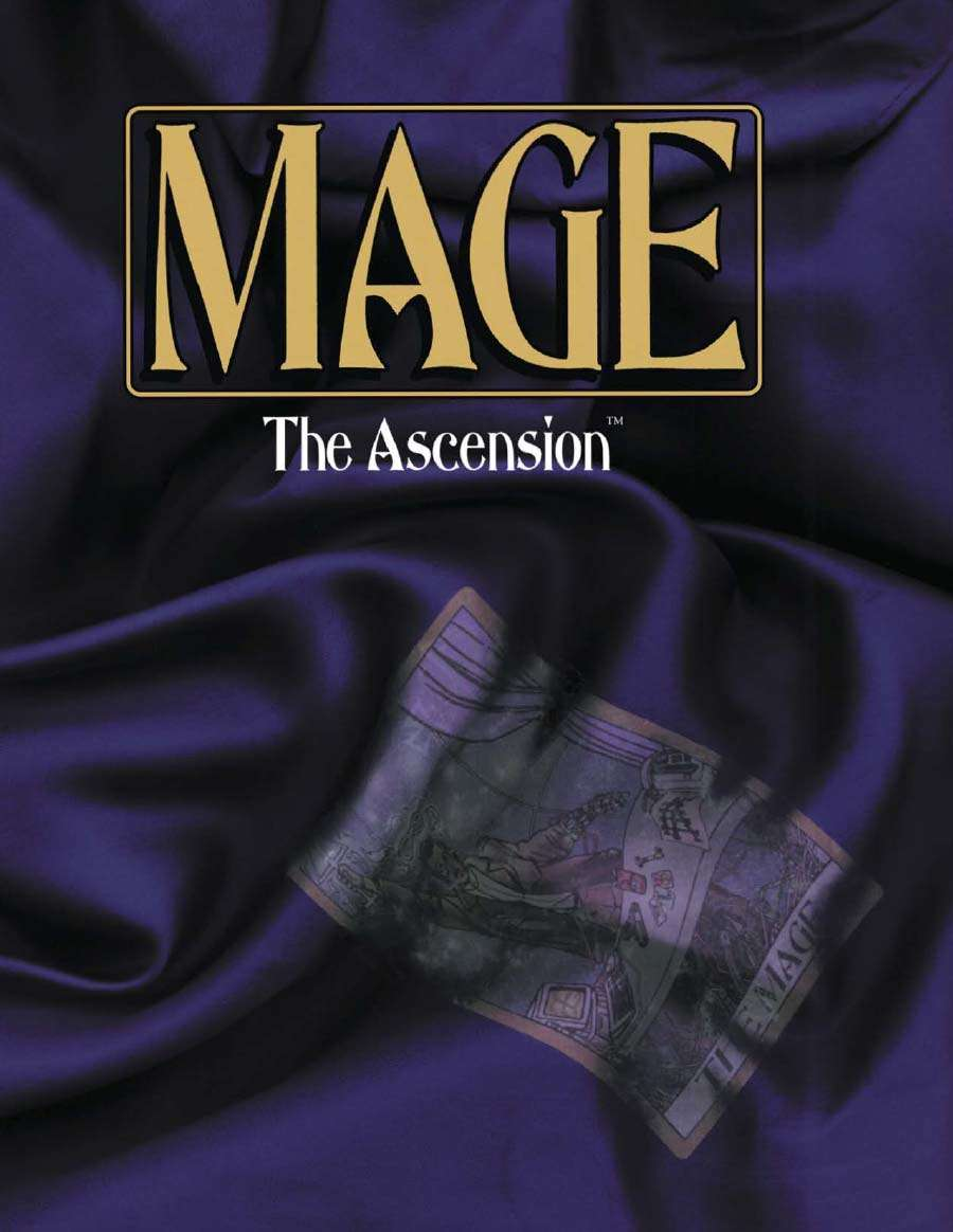 Mage The Ascension Second Edition White Wolf Mage The