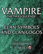 Vampire the Masquerade Clan Symbols and Clan Logos
