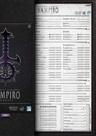 VtM Character Sheets [V20/4th Edition]