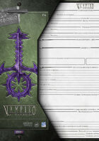 VtM- City Worksheet for the Sabbat [3rd Edition]