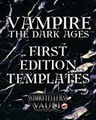Vampire: The Dark Ages First Edition Templates