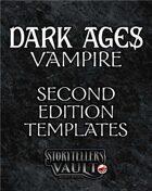 Dark Ages: Vampire Second Edition Templates